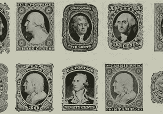 united states postage stamps series of 1851 preview