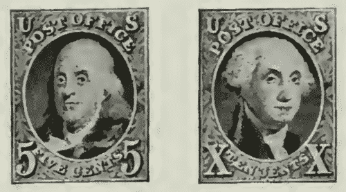 us postage stamps series of 1847