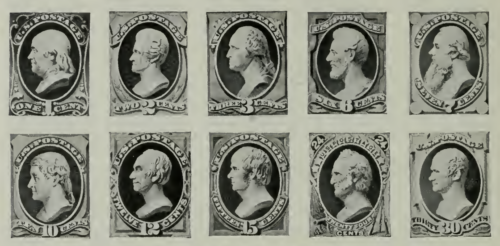 postage stamps of 1870 april 9 to 30
