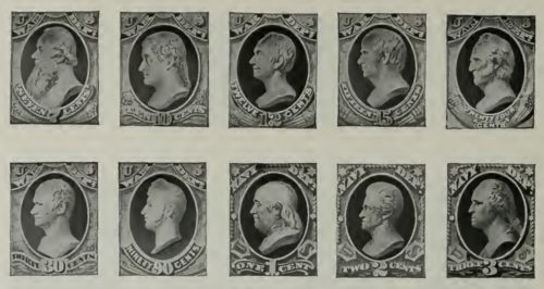 the united states postage stamps 1873-1884