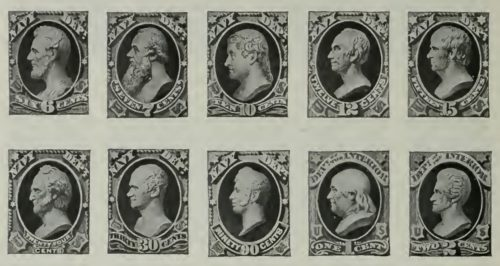 united states stamps 1873-1884