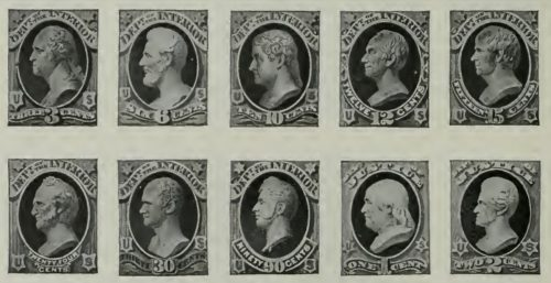 the united states stamps from 1873 to 1884
