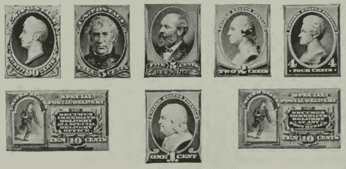 us postage stamps of 1870 april 9 to 30