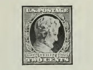 Lincoln 2-Cent Stamp of 1909