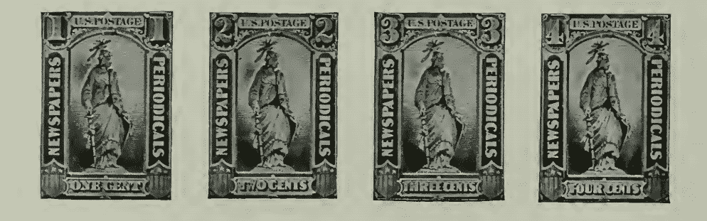 Newspaper and Periodical Stamps - January 7, 1875 - part 1