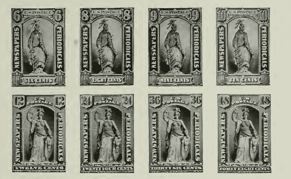 Newspaper and Periodical Stamps - January 7, 1875 - part 2
