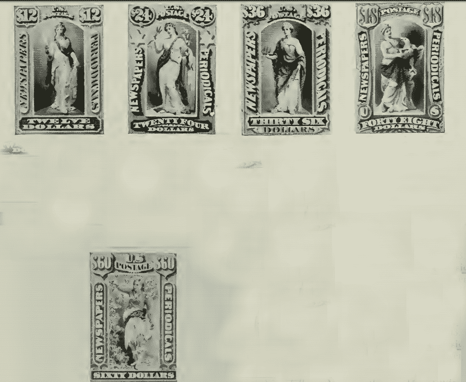 Newspaper and Periodical Stamps - January 7, 1875 - part 4