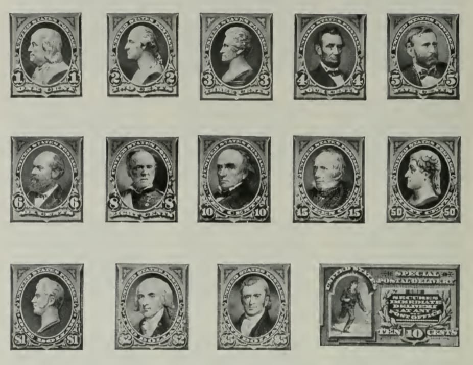 Ordinary Postage Stamps - 1894