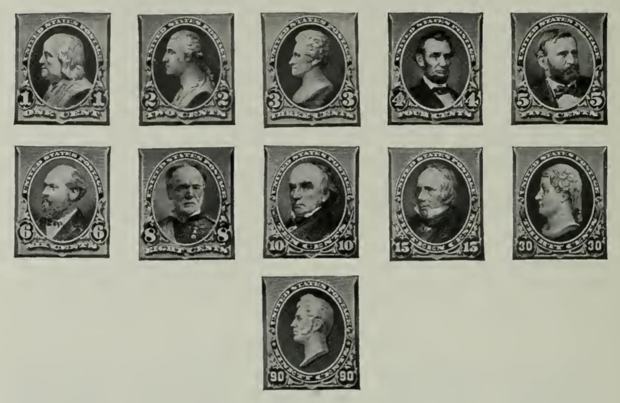 Ordinary Postage Stamps - Issue of 1890
