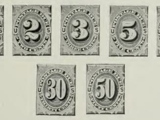 Postage-Due Stamps - Issue of 1879