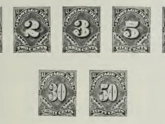 US Postage Stamps 1894