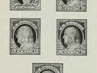 Ordinary Postage Stamps - Issue of 1914