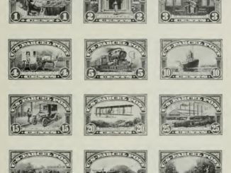 Parcel-Post Stamps - Issue of 1912-13